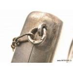 Дамская серебряная сумочка - кошелёк