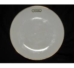 Неглубокая тарелка с логотипом концерна AUTO UNION