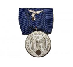 Медаль 4 года выслуги в Люфтваффе