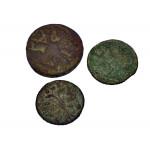 Три монеты Елизаветы