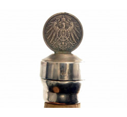 Серебряная бутылочная пробка