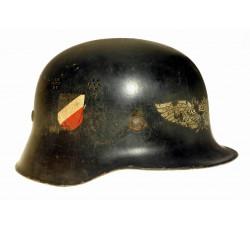 Шлем службы ПВО Luftschutz, Германия.