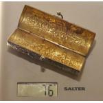 Старинная серебряная монетница. Германия.