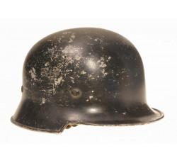 Стальной германский шлем. Пожарные части, ПВО и полиция.