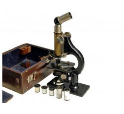 Микроскоп. WINKEL-ZEISS. GOTTINGEN. Начало XX века.