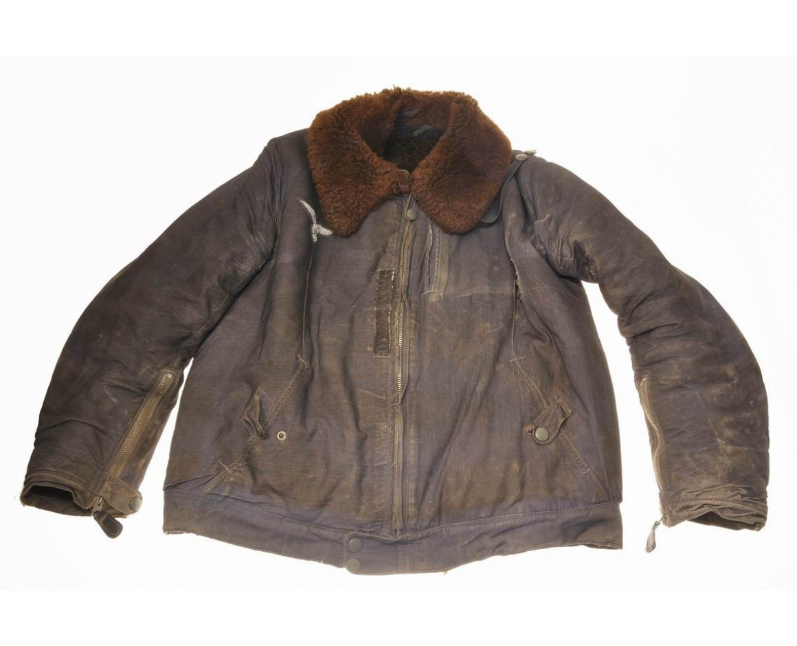 Меховая куртка пилота Люфтваффе