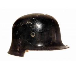 Стальной германский шлем. Пожарные части.
