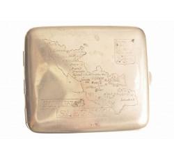Портсигар с картой Силезии. 20-ые годы.