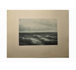 Картина Ивана Константиновича Айвазовского «Чёрное море»