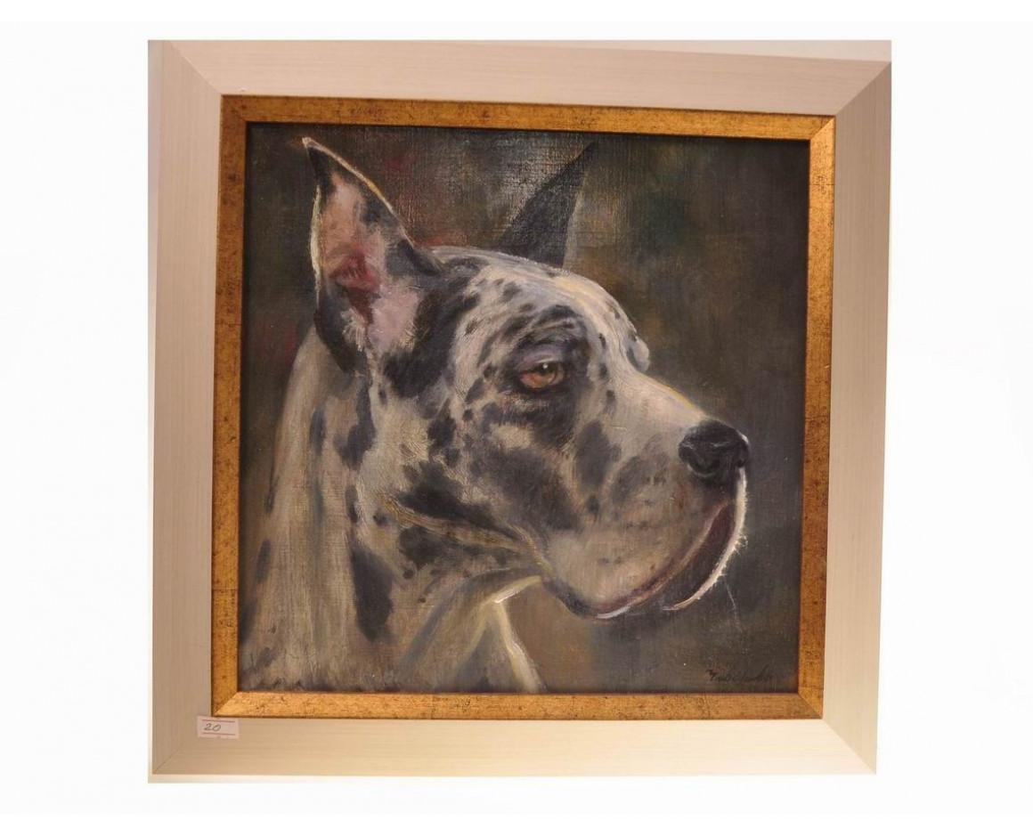 "Картина с собакой. ""Цезарь""."