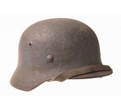 Стальной шлем в антибликовом окрасе. Stahlhelm М40.