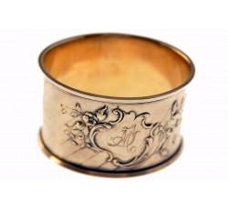 Серебряное кольцо под салфетки. Европа. 30-ые годы. Отличное коллекционное состояние.