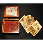 Старинный футляр под колоду карт