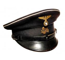 Черная фуражка СС -  Allgemeine-SS